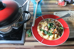MInestrone for dinner. (ironypoisoning) Tags: food apartments croatia split
