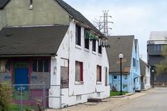 3010/3012 Oak (reallyboring) Tags: unitedstates indiana demolition bp 1917 in eastchicago nrhp marktown howardvandorenshaw 75000025