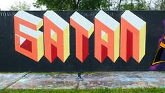 Graffiti Capelsebrug (oerendhard1) Tags: urban streetart art graffiti rotterdam satan capelsebrug