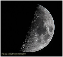 Moon @ 1600mm (Mike Black photography) Tags: new mars moon black mike nature canon lens stars solar is technology mercury sandy may nj science system shore carl jersey l planets astronomy usm universe lunar cosmos sagan 2014 800mm mune 1600mm