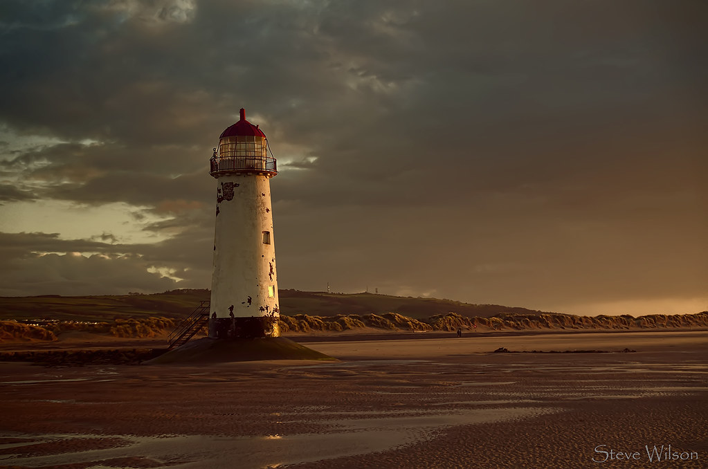 Talacre Lighthouse at Sunset