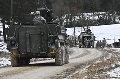 Apache Troop, Live Fire Exercise (Part One), Feb. 10, 2015 (2d Cavalry Regiment) Tags: germany football tournament soldiers turkeybowl troops usarmy squadron regiment 2cr usareur grafenwoehr rosebarracks 1stsquadron 2dcavalryregiment bulltroop