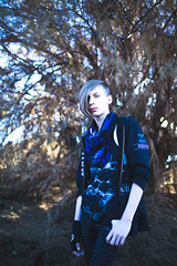 Chris-5 (Bryce Baresi) Tags: california trees portrait color fashion rock rebel rusty rusting citrus groves alternative