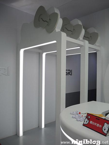 台北展覽-Robot Kitty未來樂園 機械kitty微笑科技展