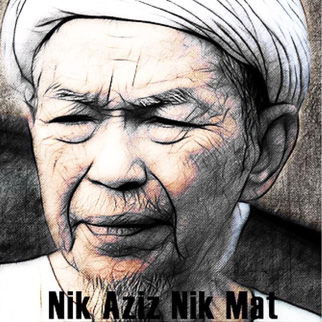 Al Fatihah.. Kita kehilangan seorang yang kita sayang.. Semoga roh Tuan Guru Nik Abdul Aziz Nik Mat dicucuri rahmat.   #alfatihah #tok #guru