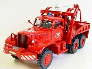 Diamond T 969 4-Ton,Holmes W-45 Recovery Crane-equipped,6x6 Wrecker-Heavy Recovery Vehicle-Breakdown Lorry,Fire Service.ASAM Models. Almost identical to the two red Diamond T 969s in Yorkshire-High Peaks.  # VF