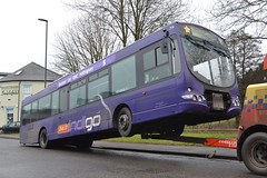 Trent Barton 714 FJ58KKF (Will Swain) Tags: uk travel england bus buses britain transport trent depot barton february 14th derby midland midlands 714 notts 2015 fj58kkf