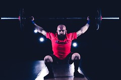 crossfit02 (j0s3) Tags: red man sports sport workout gym snatch wod crossfit