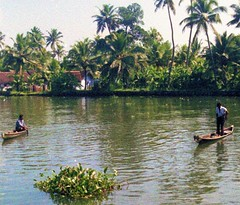 Kerala backwaters (bokage) Tags: india water boat transport kerala backwaters