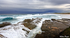 0S1A8047 (Steve Daggar) Tags: lighthouse seascape storm surf waves moody dramatic wave australia coastline norahhead soldiersbeach