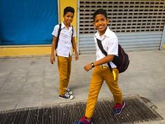 Havana. Cuba (H.L.Tam) Tags: street school students children havana cuba documentary cuban schooluniform iphone habanavieja photodocumentary cubanfaces iphone6s harbana cubanschooluniform cubasketchbook cubanschoolstudents