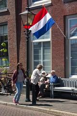 Goodbye (chipje) Tags: street people netherlands bench dordrecht goodbye veday bevrijdingsdag 5mei nieuwehaven