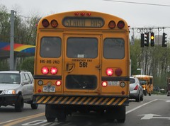 First Student #561 (ThoseGuys119) Tags: 2005 white ny thomas top schoolbus built wallkill fs65 saftliner firststudentinc