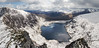 Wintry Carneddau 19 (Ice Globe) Tags: winter panorama white mountain lake snow mountains cold nature water wales 35mm reflections landscape frozen pond nikon view y snowy lakes scenic panoramic reservoir views craig snowing ripples icy snowdonia yr moel tryfan ffynnon wintry goch siabod glyder fach carneddau foel reservoirs llugwy landsacpes d5100 ysfa