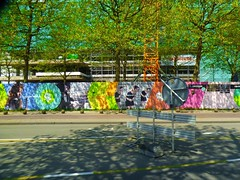 an immense sunny Sunday (JosDay) Tags: street streetart mural nederland thenetherlands denhaag lightshadow paysbas thehague neighbourhood mytown walkinthecity thisisart walkingaround picturethis coolphoto denhaagcentrum lightcolour worldlightning panasonicdmctz10 7dayswithflickr walkingaroundintown ~~~atmosphere~~~ sapphirephotogroup 7daystuesdayfree totalphotogroup wowisawthis worldthroughtthelens sphere~ wowmazingshots