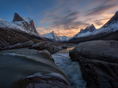 Arctic Cordillera (arturstanisz1) Tags: canada mountains arctic nunavut baffinisland canadianarctic mountthor arturstanisz