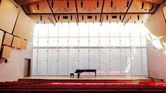 Renzo Piano Pavilion (--v) Tags: light red museum architecture design louvre interior piano auditorium renzo