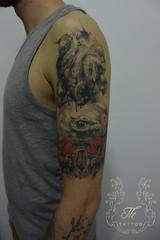 skull_heart_tattoo (TH Tattoo - Salon tatuaje Bucuresti) Tags: skulltattoo heart skull tatuaj tatuaje bucuresti tattoos salon shop studio ink