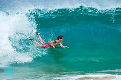Big Skim & Surf (brandon.vincent) Tags: ocean beach island hawaii big sand surf pacific board maui tropical skimmer skim makena