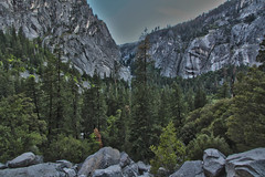 Illilouette Falls, Yosemite National Park (Mastery of Maps) Tags: california park ca green nature outdoors nationalpark spring natural yosemite yosemitenationalpark naturalbeauty sierranevada yosemitevalley usnationalpark 2016 misttrail