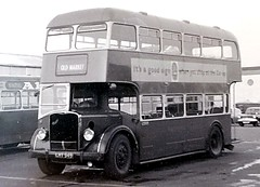 Ring in the new - 1949 style (Robin Summerhill) Tags: bus station bristol temple lawrence bath gate hill company rank blackhorse staple omnibus hinton kingswood keynsham hicks meads parkfield dyrham fishponds mangotsfield siston downend lodekka warmley pucklechurch lc5000 lhy949