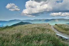 Parc de la Gaspsie (sbastienfontana) Tags: travel cloud canada nature landscape alone quiet quebec roadtrip silence nuage paysage gaspesie calme seulaumonde ameriquedunord parcgaspesie