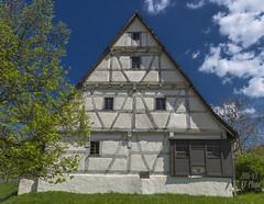Open air museum: Residential Barn House (KF-Photo) Tags: fachwerk fachwerkhaus beuren wohnstallhaus freiluftmuseum