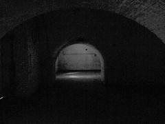 darkness (Mattijsje) Tags: holland netherlands dark darkness fort bricks nederland bow fortress waterlinie vechten 1869 gewelf hollandse gewelven