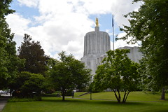 Oregon State Capitol (David A's Photos) Tags: county oregon state may marion capitol salem 2016