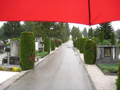 Žale Cemetery in the Rain (Wiebke) Tags: graves ljubljana slovenia europe vacationphotos travel travelphotos žale žalecentralcemetery cemetery centralnopokopališčežale pokopališče bežigrad bezigrad