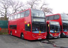 GAL E233 YX61DSY - SE74 YX60FCD - BX BEXLEYHEATH BUS GARAGE - SAT 19TH MAR 2016 (Bexleybus) Tags: bus london ahead kent garage go 400 dennis enviro bexleyheath adl bx goahead e233 se74 yx60fcd yx61dsy