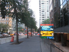 Beekman Theater - first time without a construction fence since forever 1476 (Brechtbug) Tags: ocean new york city nyc sea fish streets film water june fence computer movie poster marquee construction theater finding time theatre first disney since line billboard lobby 2nd story pixar animation billboards forever animated aquatic avenue without dory between based marquees the 66th beekman standee 67th 06182016
