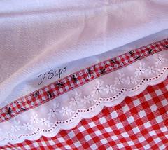 Pano de Copa PicNic (D'Sapo) Tags: kitchen handmade pano artesanato feitoàmão craft apron fabric avental cozinha tecido panodeprato panodecopa