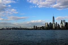 IMG_0454 (thehachland) Tags: newyorkcity building canon newjersey memorial state worldtradecenter empire statueofliberty christophercolumbus libertystatepark