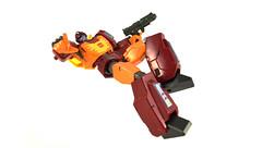 Revoltech Hot Rodimus (machtackle) Tags: hot prime transformers rod leader 1986 takara autobot rodimus revoltech roduimus
