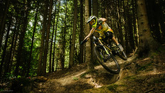 Cornering (andrzejsykut) Tags: park bike downhill gravity dh biking mtb enduro antidote koninki carbonjack