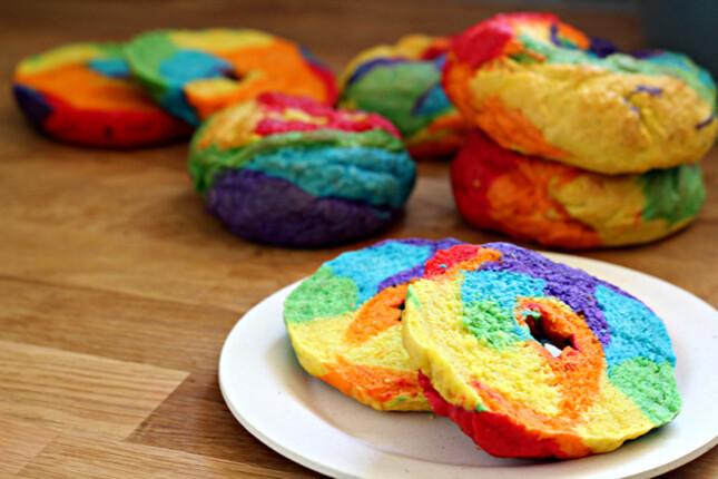 Rainbow Bagel 2