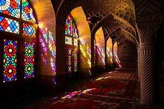 La moschea delle rose (Armando Magro) Tags: canon iran shiraz moschea