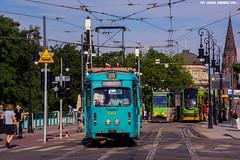 Duewag O #901 (ukasz Janowicz) Tags: duewago 901 mostteatralny pozna mpkpozna tramwaj tram strassenbahn linia28 linie28 zweirichtung
