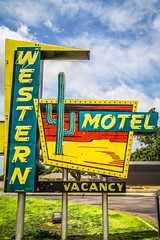 Western Motel (TooMuchFire) Tags: signs southwest oklahoma sign vintage typography route66 neon motel signage americana motelsign rt66 oldsigns vintagesigns sayre vintageneonsign vintageneonsigns vintagesignage oldmotels motelsigns westernmotel oldneonsigns route66signs route66neonsigns serightneon 315nehwy66sayreok
