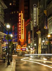 Washington Street, Boston, Massachusetts, United States (weesam2010) Tags: street city house colour boston night lights washington opera theatre massachusetts united states paramount