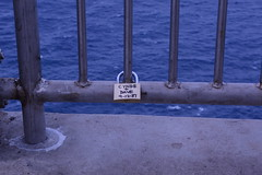 Love Lock (wildukuleleman) Tags: vacation lighthouse love hawaii oahu lock makapuu 2016