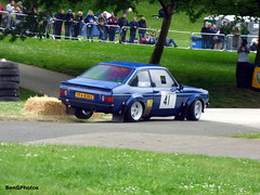 Group 4 Escort Mk2 (BenGPhotos) Tags: blue classic ford sports car sport race crystal mark 4 rally group smith palace racing event mk2 motor 1978 sprint escort rs2000 motorsport mkii autosport 2016 grp4 motorsportatthepalace yfa836s