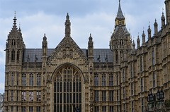 Palace of Westminster (pjpink) Tags: uk england london architecture spring britain may housesofparliament parliament government ornate neogothic palaceofwestminster 2016 pjpink