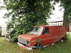 1980's Ford Van (dfirecop) Tags: auto ford pennsylvania pa vehicle van 1980 carlisle 1100 autosales e150 harrisburgpike dfirecop lwmentzer
