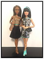 Raquelle and Brianna (dcmotumarveldisney) Tags: barbie raquelle barbiefashionista barbiemadetomove