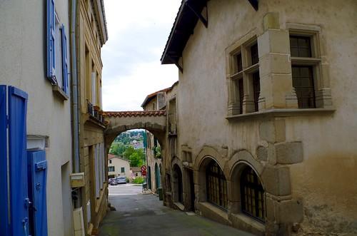 Porte Saint-Etienne, Saint-Galmier, Loire