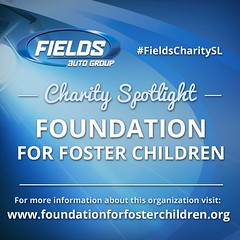"""This week's Fields Charity Spotlight goes to the Foundation For Foster Children, whose mission is to """"Enhance the lives of children in foster care through support and advocacy to create opportunities for a brighter future."""" For more information on this wo (landroverorlando) Tags: auto usa cars car orlando automobile florida united group rover land fields fl states autos landrover rangerover luxury automobiles wwwlandroverorlandocom"""