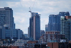 Polson Pier (Marcanadian) Tags: city lake toronto ontario canada building water june skyline architecture port square pier spring construction downtown waterfront lands dundas hnr 2016 polson