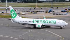 Transavia Airlines Boeing 737-8K2 PH-HZJ (Mark 1991) Tags: ams amsterdamschiphol amsterdamschipholairport amsterdamairport schiphol amsterdam schipholairport transaviaairlines transavia boeing 737 737800 phhzj